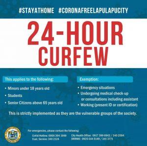 Curfew in Lapu Lapu City