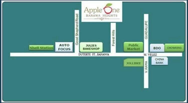 Apple One Banawa Heights Location
