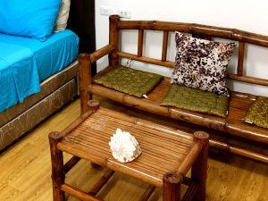 バンブー素材の家具