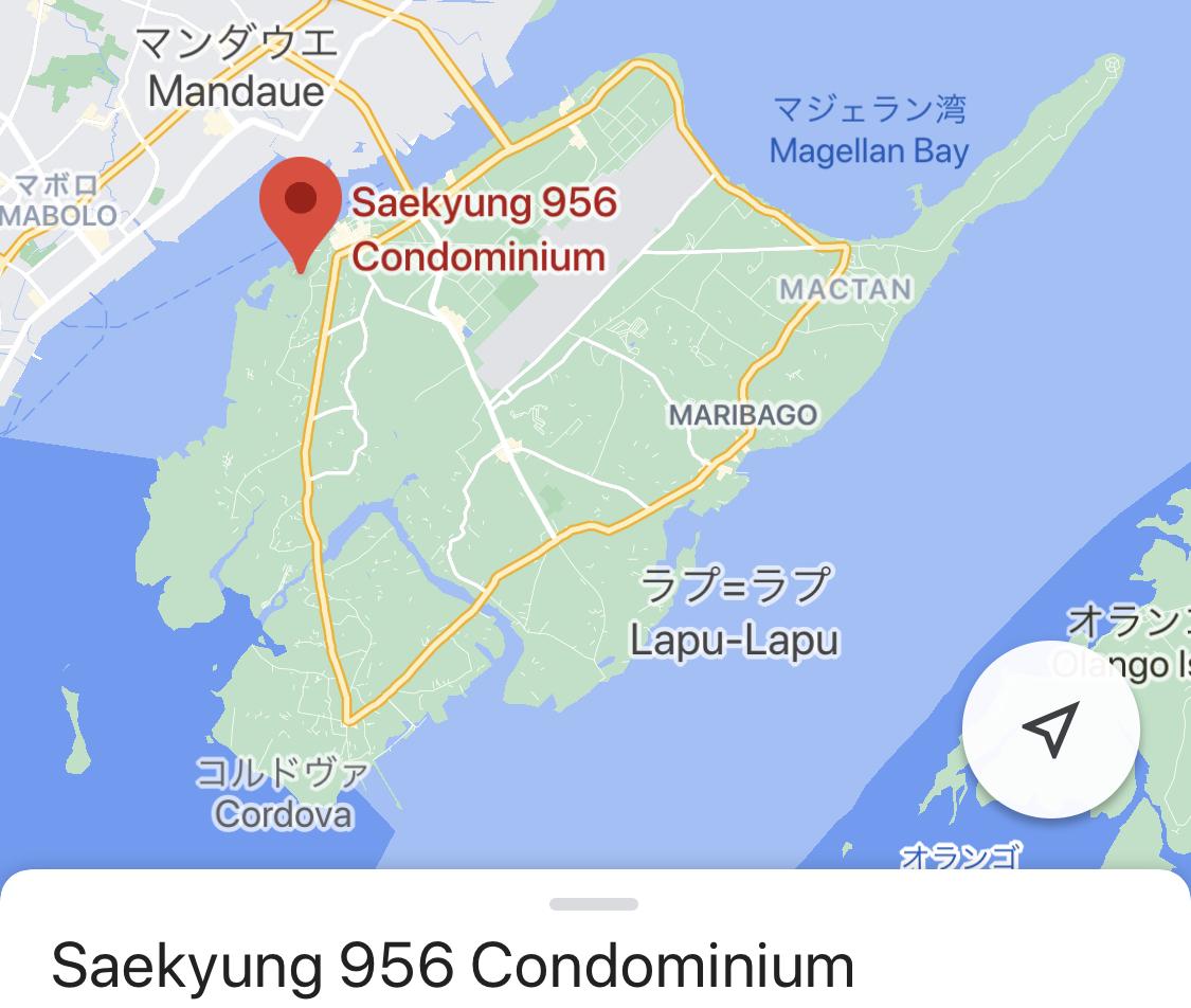 Saekyung 956の位置