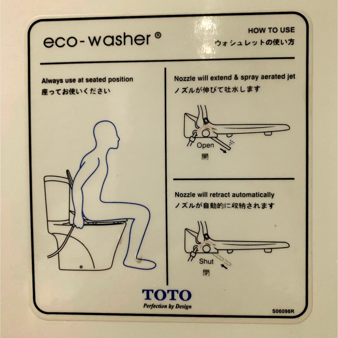 Eco Washerの使い方