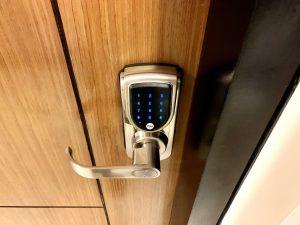 アルテラのユニットに設置しているデジタルキー