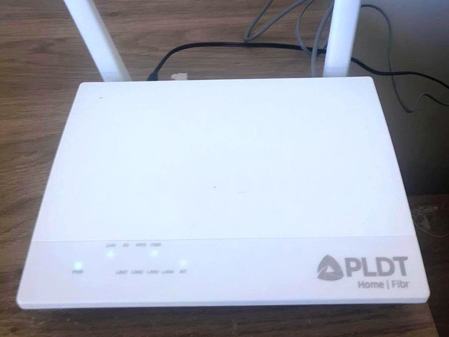 新しいPLDTモデム
