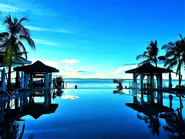 セブエリア最高級のリゾートホテルです