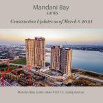 湾外沿いに聳え立っているMandani Bay Suites T1&T2
